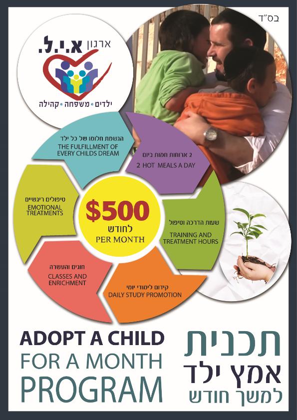 תוכנית אמץ ילד- ארגון איל